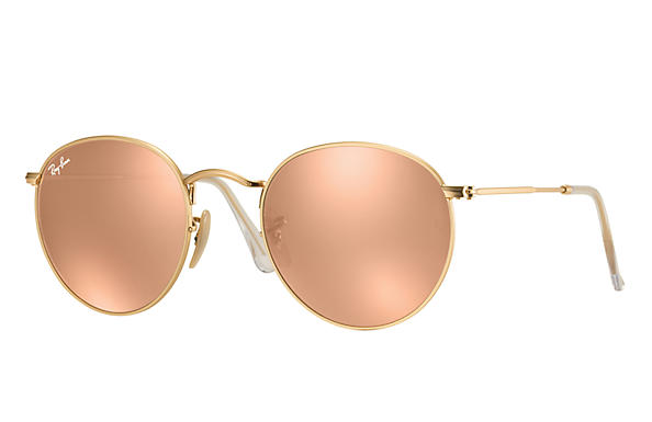 ray ban aviator femme miroir rose